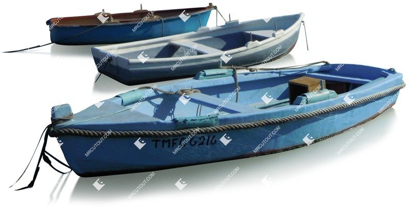 Cut out Boat 0012 preview