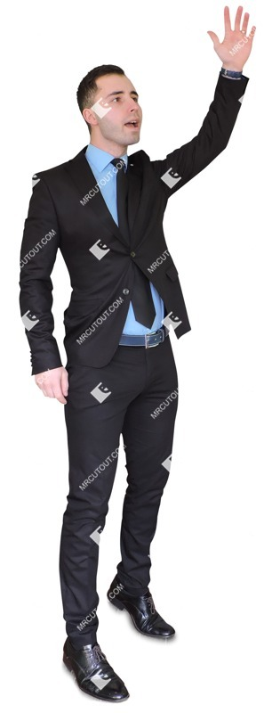 Cut out people - Businessman Standing 0015