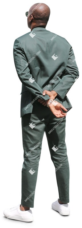 Cut out people - Businessman Standing 0060