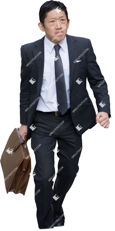 Cut out people - Businessman Walking 0025 preview