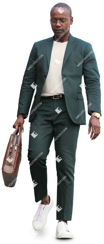 Cut out people - Businessman Walking 0052 preview