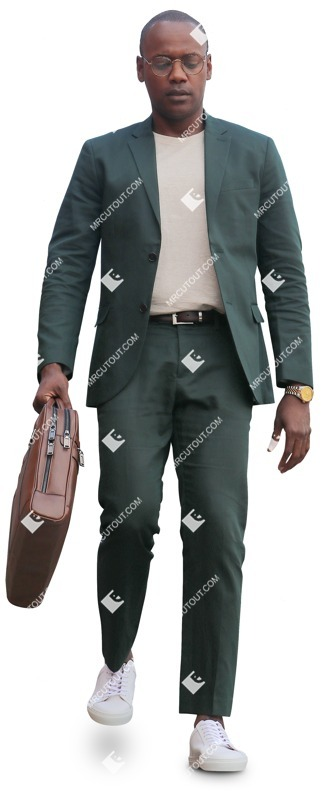 Cut out people - Businessman Walking 0053 preview