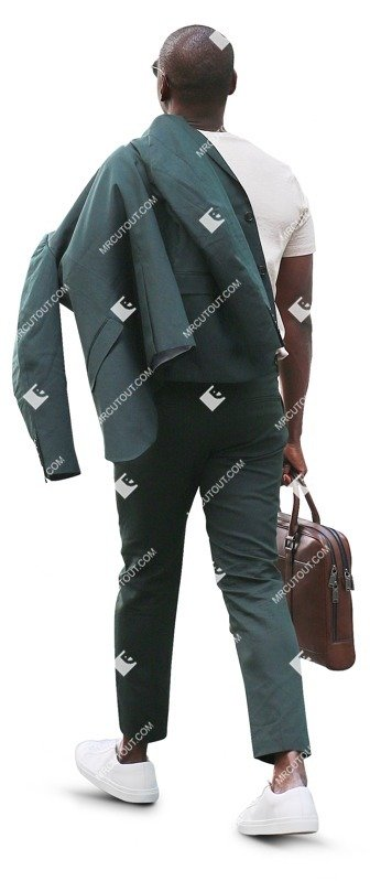 Cut out people - Businessman Walking 0055 preview
