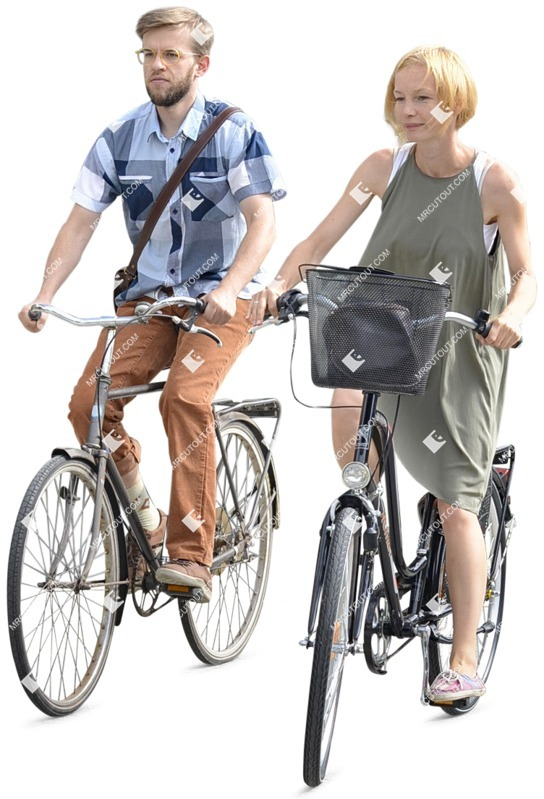 Cut out people - Couple Cycling 0001 preview
