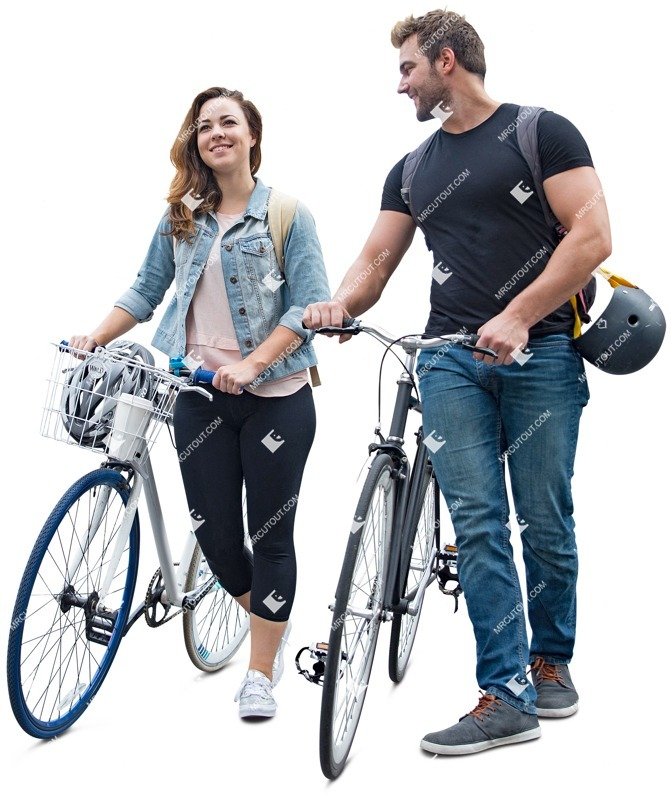 Cut out people - Couple Cycling 0005 preview