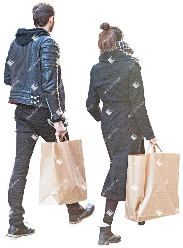Cut out people - Couple Shopping 0006 preview