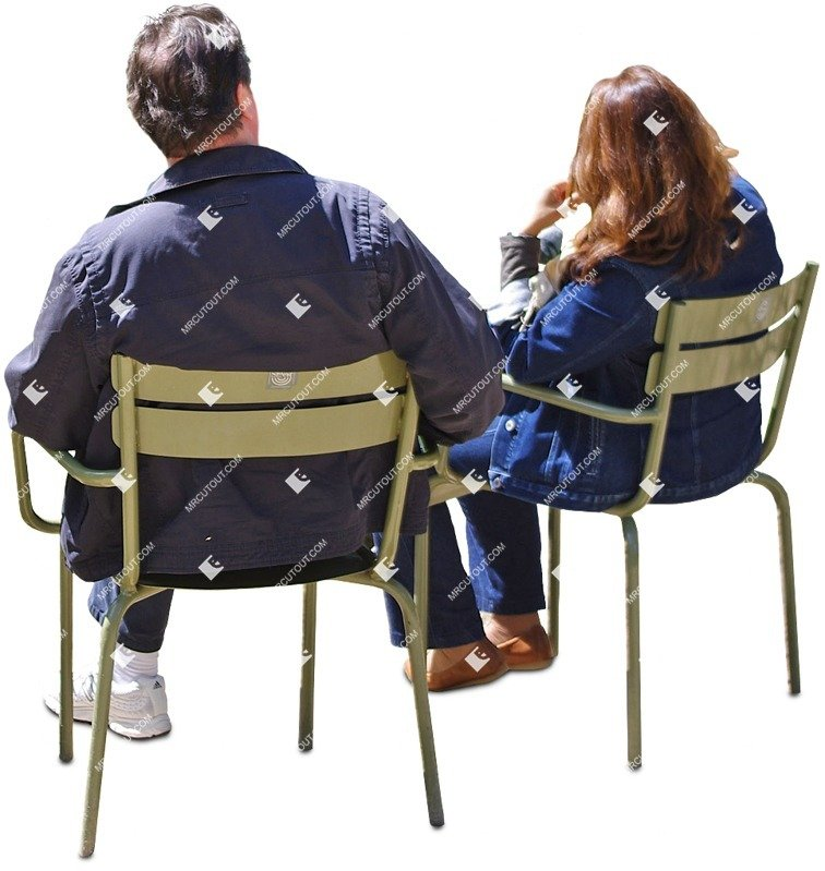 Cut out Couple Sitting 0026 preview