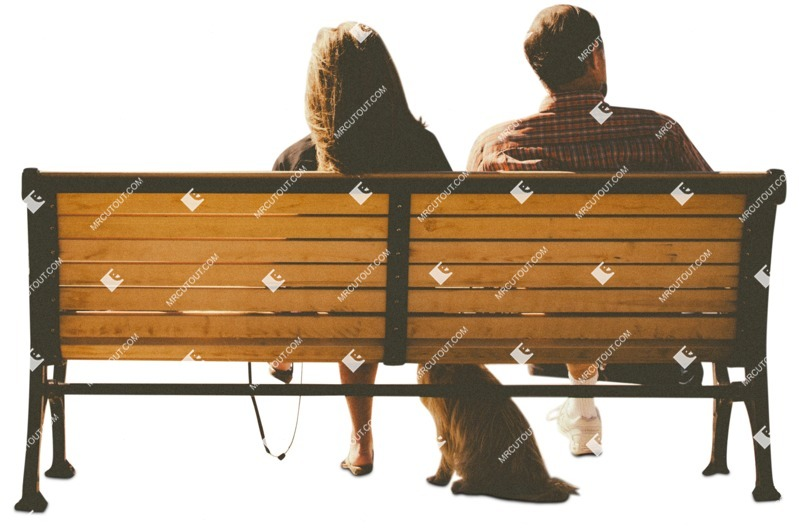 Cut out Couple Sitting 0031 preview