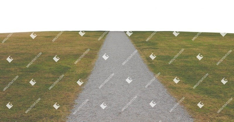 Cut out Cut Grass Grass Paving Road 0001 preview