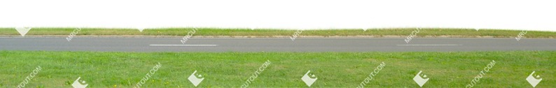 Cut out Cut Grass Grass Road 0001 preview