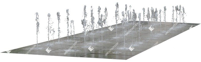 Cut out Fountain 0004 preview
