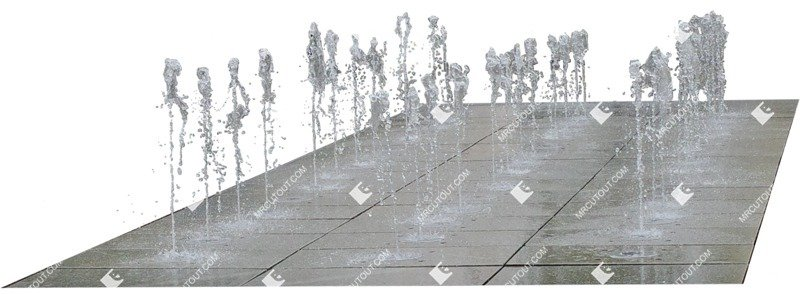 Cut out Fountain 0005 preview