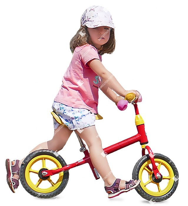 Cut out people - Girl Cycling 0005