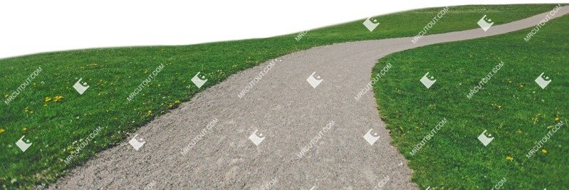 Cut out Grass Paving 0001
