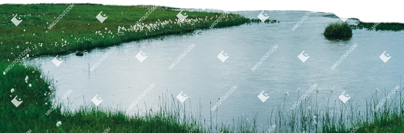Cut out Grass Water 0001