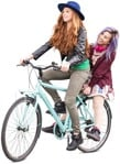 Cut out people - Group Of Friends Cycling 0001 | MrCutout.com