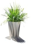 Cut out Potted Flower Spartina Pectinata 0001 | MrCutout.com