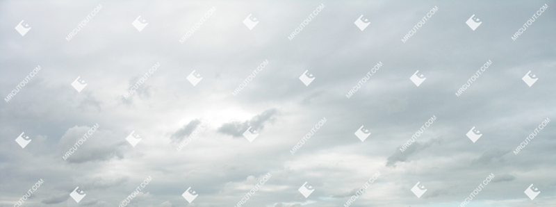 Sky for photoshop - Rainy Clouds 0001