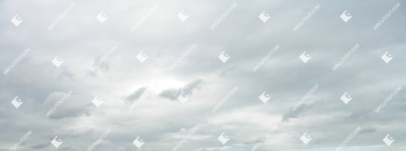 Sky for photoshop - Rainy Clouds 0001 preview