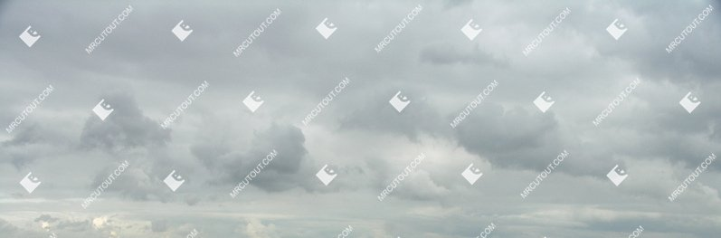 Sky for photoshop - Rainy Clouds 0008 preview