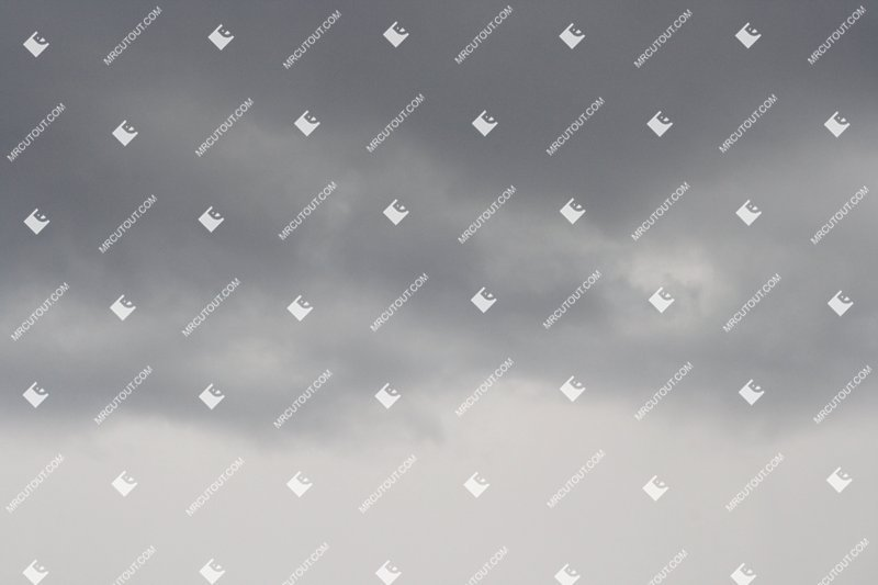 Sky for photoshop - Rainy Clouds 0013 preview