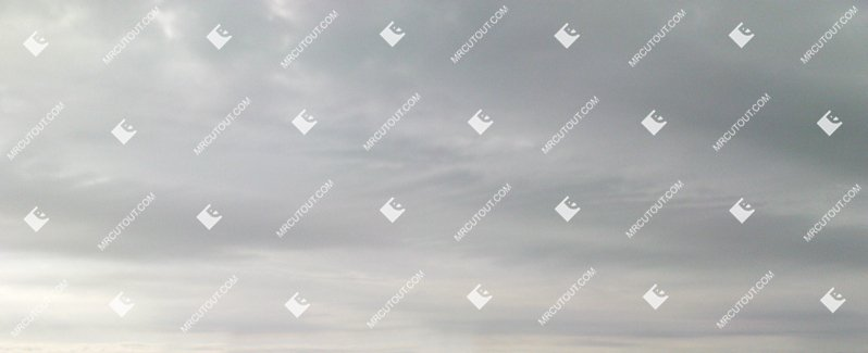 Sky for photoshop - Rainy Clouds 0015 preview