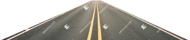 Cut out Road 0033