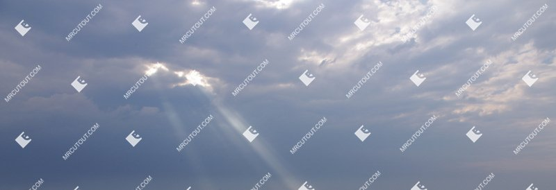 Sky for photoshop - Sunny Clouds 0001 preview