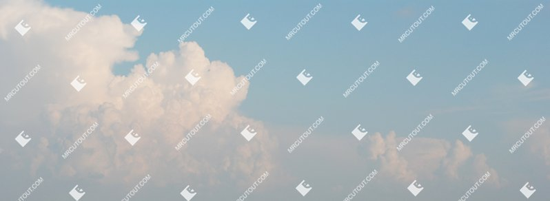 Sky for photoshop - Sunny Clouds 0008