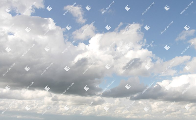 Sky for photoshop - Sunny Clouds 0012 preview