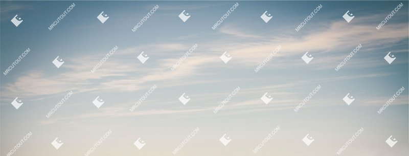 Sky for photoshop - Sunny Clouds 0014 preview