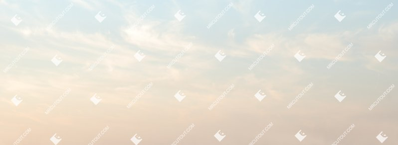 Sky for photoshop - Sunny Clouds 0019 preview