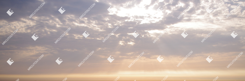 Sky for photoshop - Sunny Clouds 0023 preview