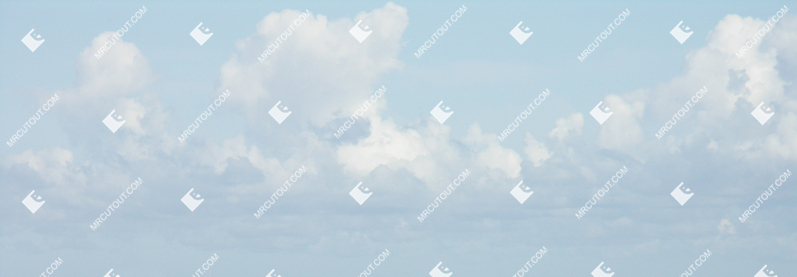 Sky for photoshop - Sunny Clouds 0027