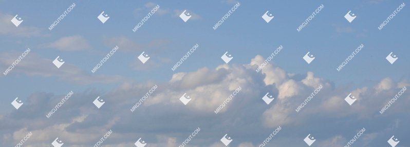 Sky for photoshop - Sunny Clouds 0028 preview