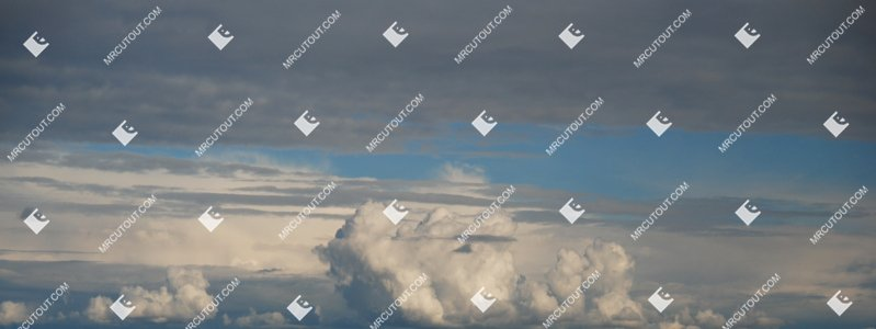 Sky for photoshop - Sunny Clouds 0029 preview
