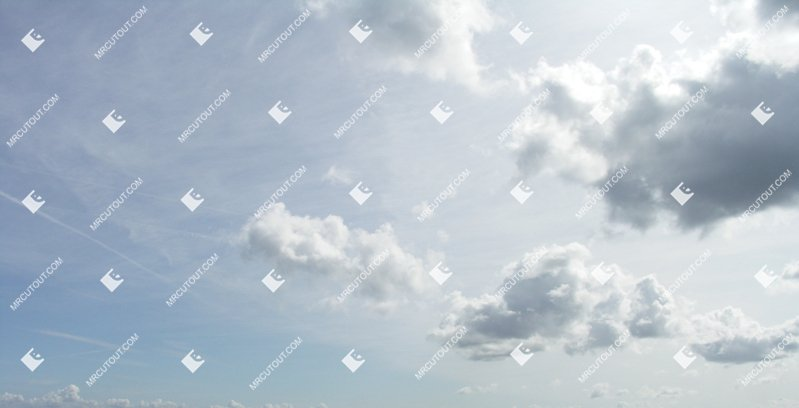 Sky for photoshop - Sunny Clouds 0035 preview