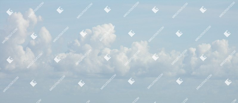 Sky for photoshop - Sunny Clouds 0037 preview