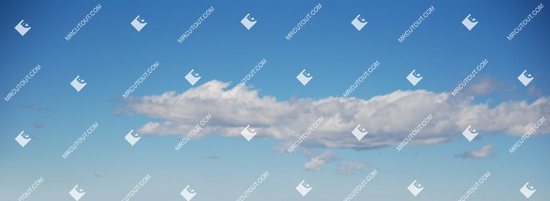 Sky for photoshop - Sunny Clouds 0043 preview