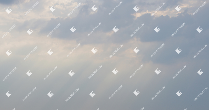 Sky for photoshop - Sunny Clouds 0045 preview