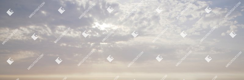 Sky for photoshop - Sunny Clouds 0053 preview