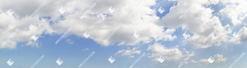 Sky for photoshop - Sunny Clouds 0063 preview