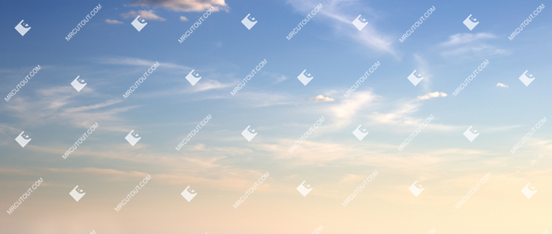 Sky for photoshop - Sunny Clouds 0065 preview