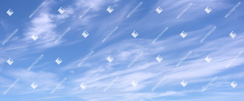 Sky for photoshop - Sunny Clouds 0068 preview