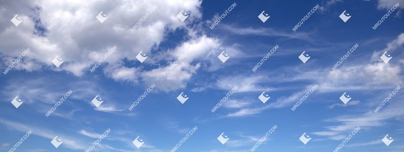 Sky for photoshop - Sunny Clouds 0069