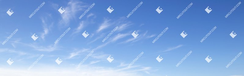 Sky for photoshop - Sunny Clouds 0071 preview