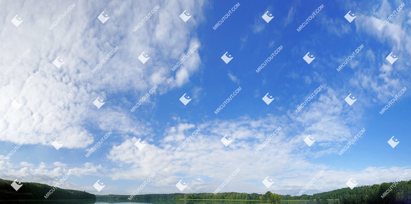 Sky for photoshop - Sunny Clouds 0073 preview