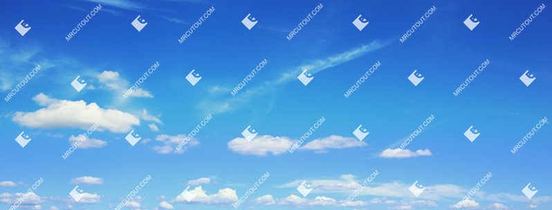 Sky for photoshop - Sunny Clouds 0077 preview