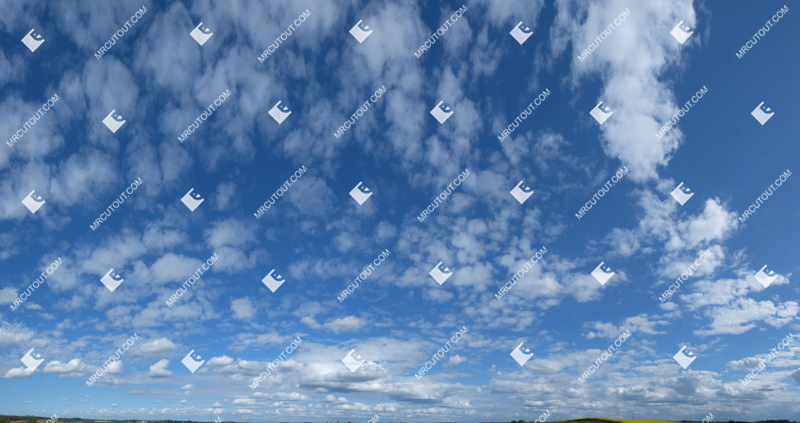 Sky for photoshop - Sunny Clouds 0080 preview