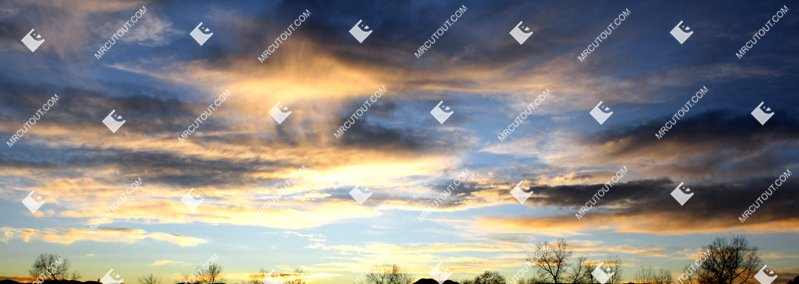 Sky for photoshop - Sunset 0001 preview